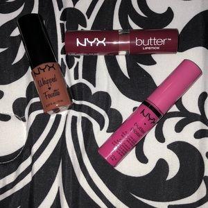NYX lip paints (3)